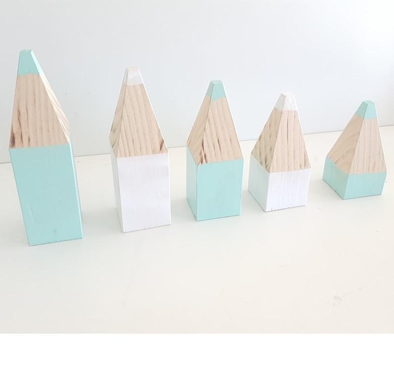 lápiz de madera  decorativo