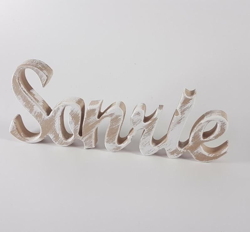 palabra Sonríe