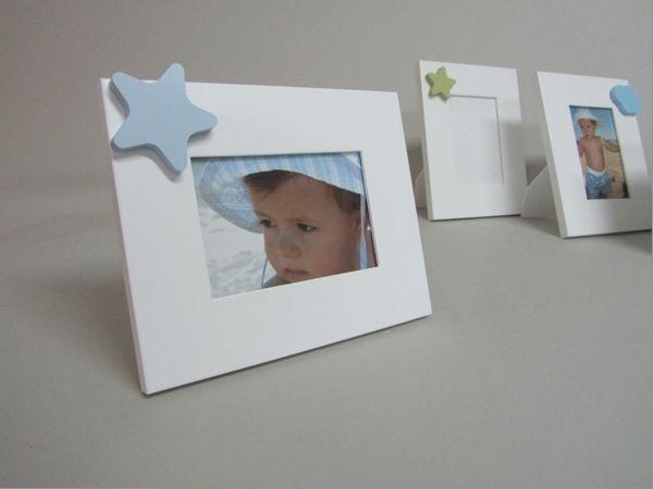 marco fotos lacado blanco