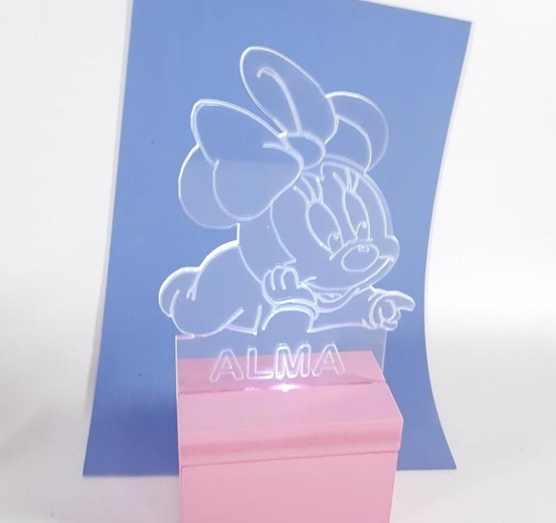 lámpara quitamiedos Minnie baby