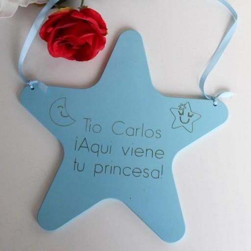 letrero estrella