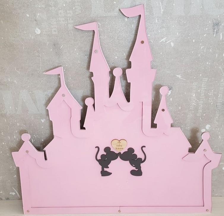 castillo firmas Disney