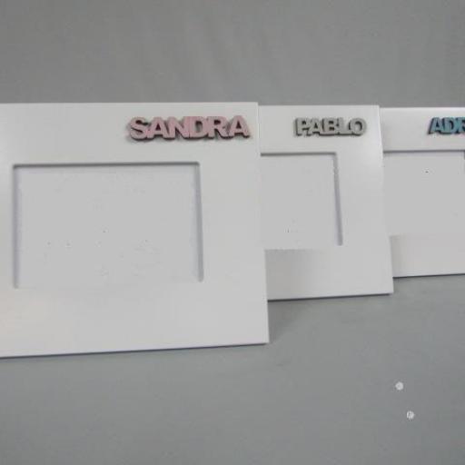 marcos foto con nombre