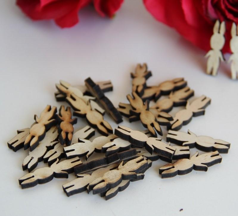 mini Sonny Angel madera