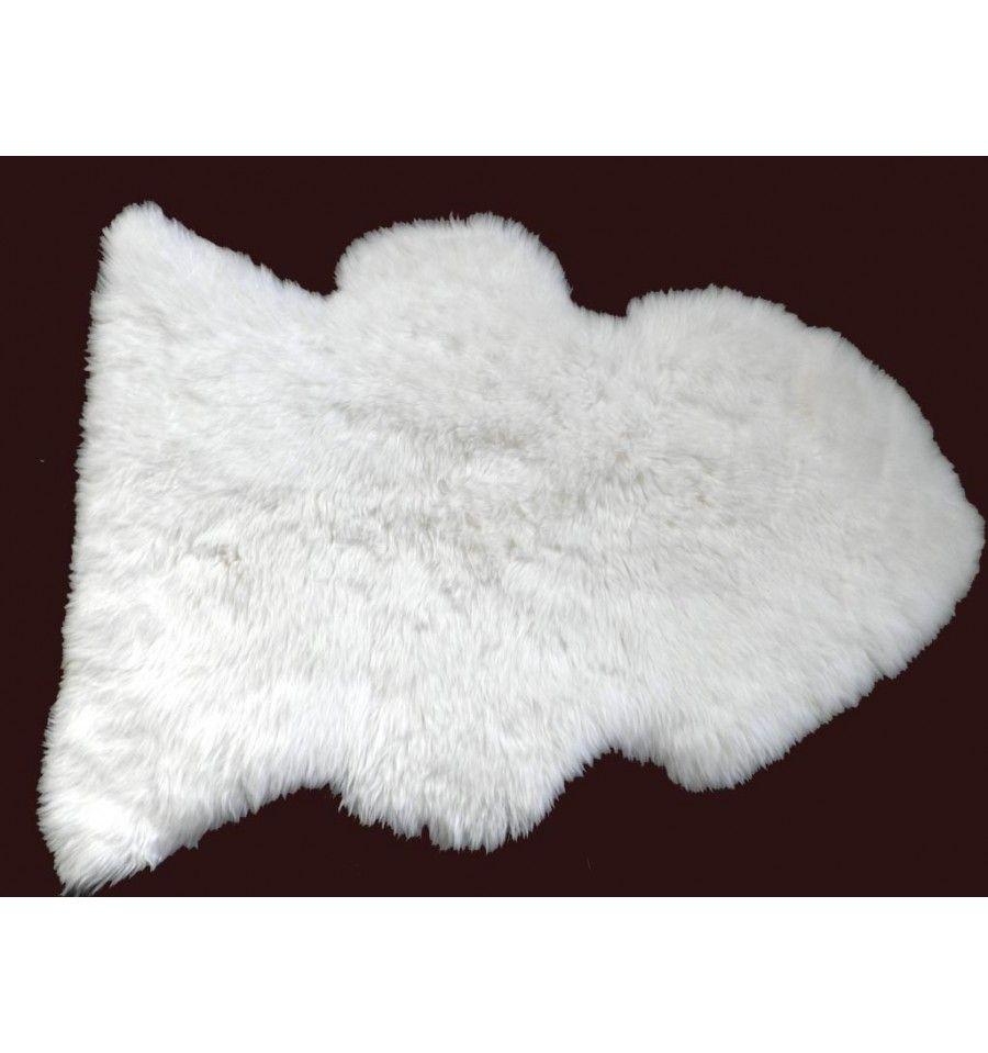 alfombra mouton de pelo largo