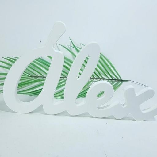 nombre decorativo 50 cm