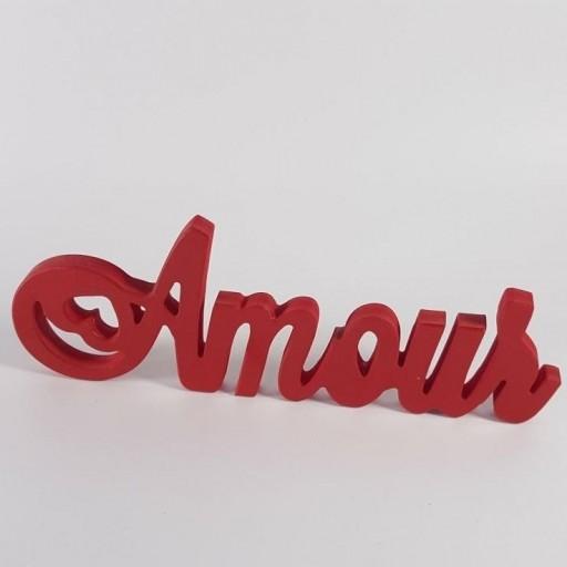 """Amour"" decorativo"