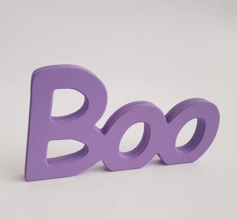 palabra decorativa Boo