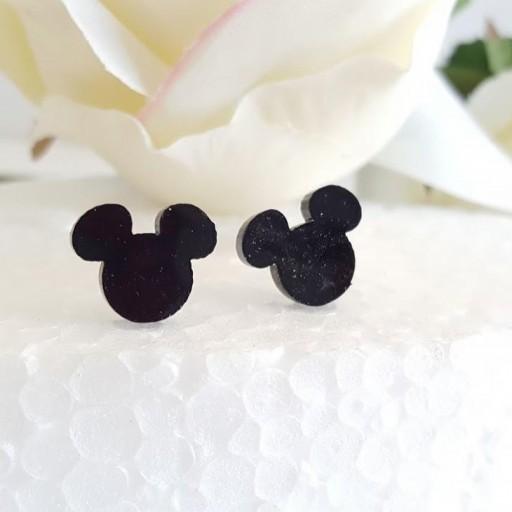 pendientes madera Mickey [1]