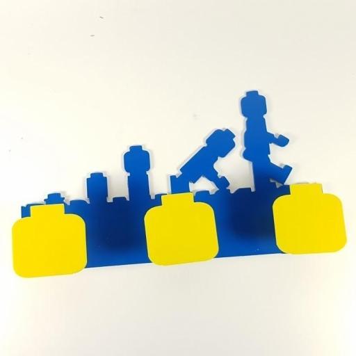 colgador hierro Super Mario, Lilo y Stich o Lego