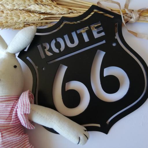 placa ruta 66