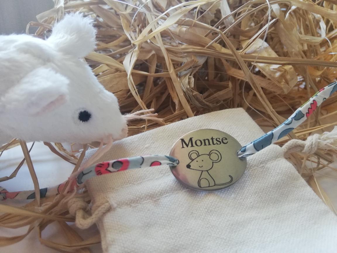 pulsera ratoncito cordón liberty