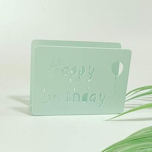 servilletero happy birthday