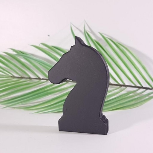 caballo ajedrez madera