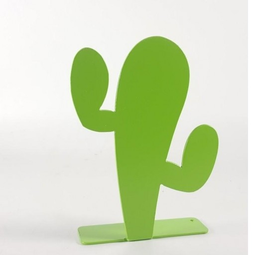 silueta cactus de metal