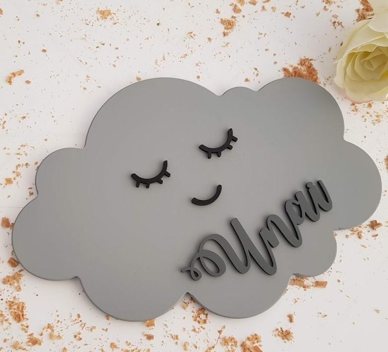 nube kawai con nombre