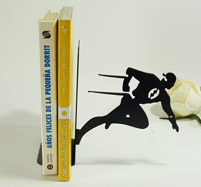 sujeta libros flash