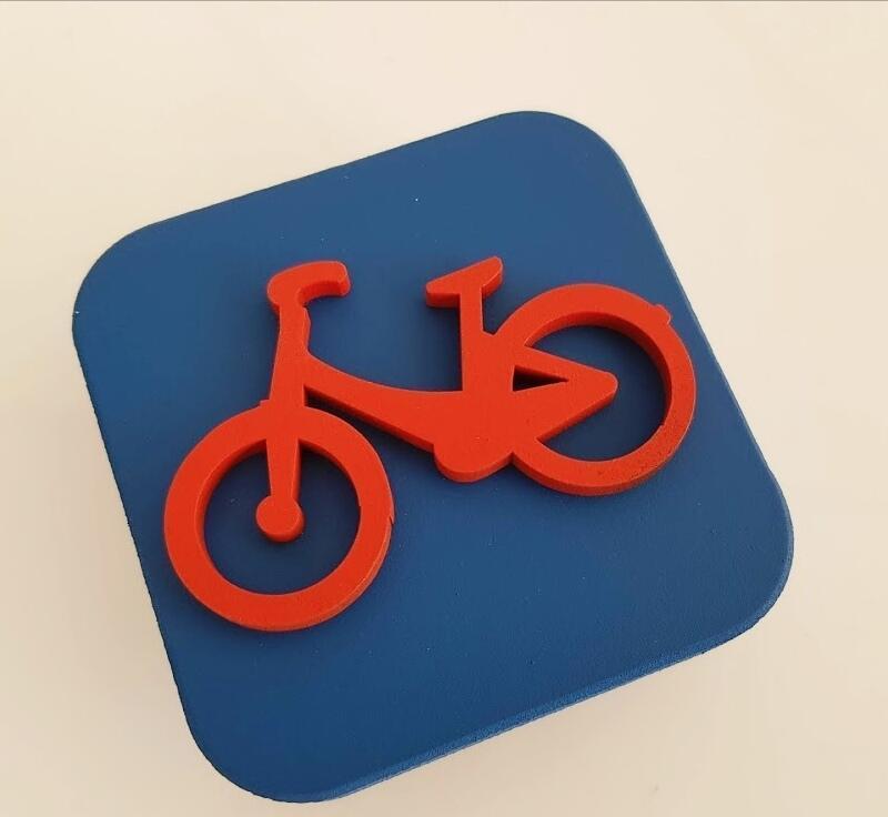 tirador cuadrado bici