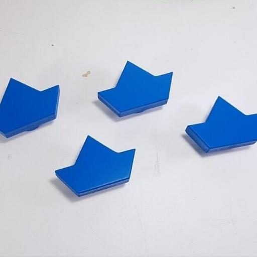 tirador/colgador  barco de papel
