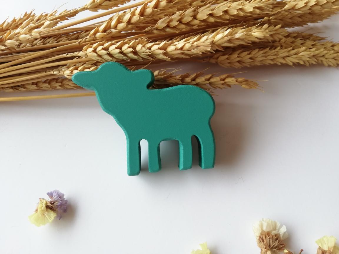 tirador/colgador ovejita