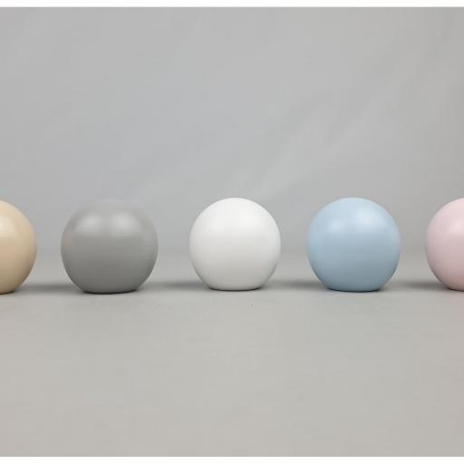 tirador esfera liso o con lunares [1]