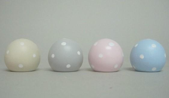 tirador esfera liso o con lunares