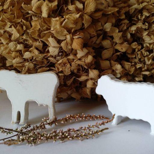 tirador / colgador oveja o vaca