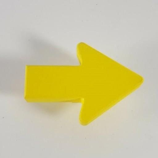 tirador / colgador flecha [1]