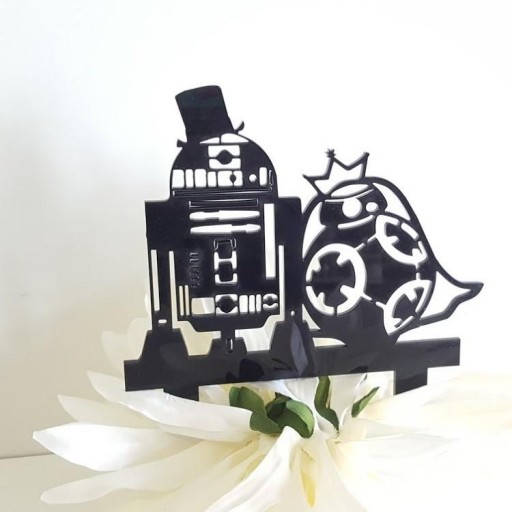 cake topper Star Wars