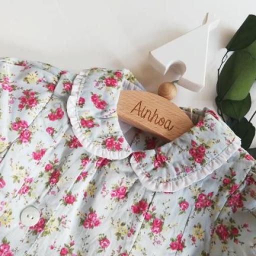 vestido villela florecitas cruzado. T.12 meses. [1]