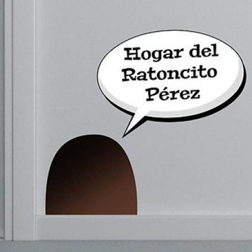 vinilo casa ratoncito Pérez