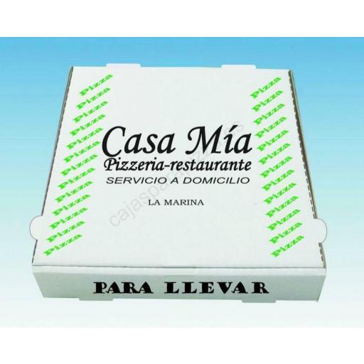 CAJAS PIZZA 36 X 36 X 3.5 7200 UNIDADES