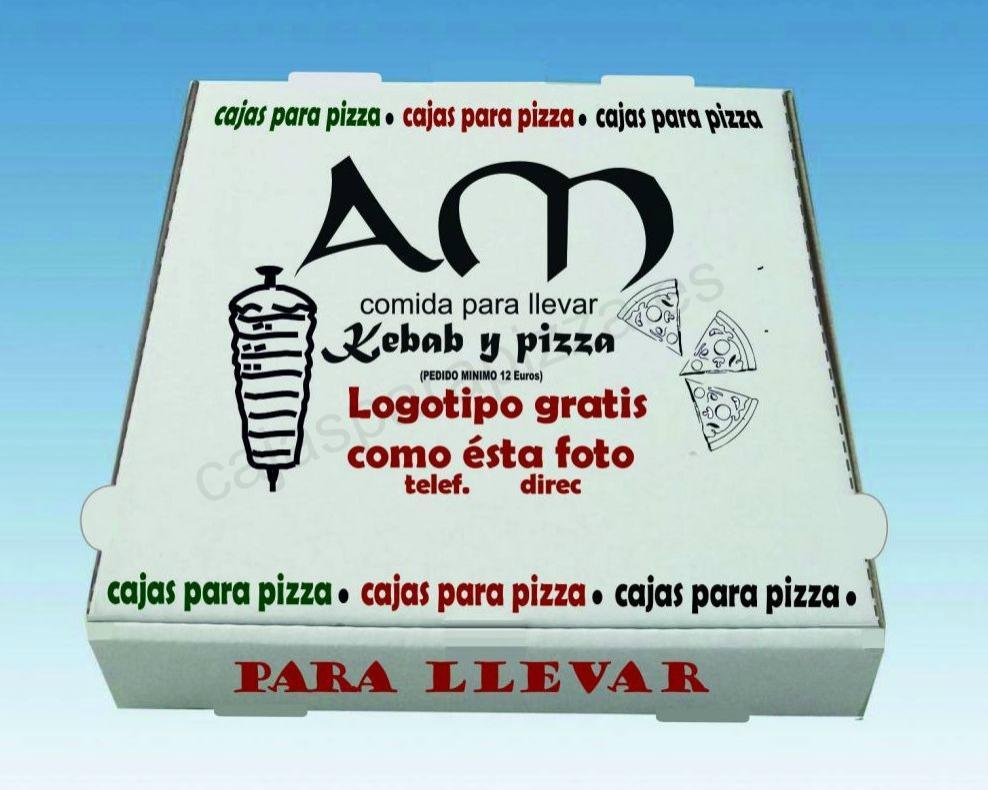 CAJAS PIZZA 31 X 31 X 3.5 7200 UNIDADES