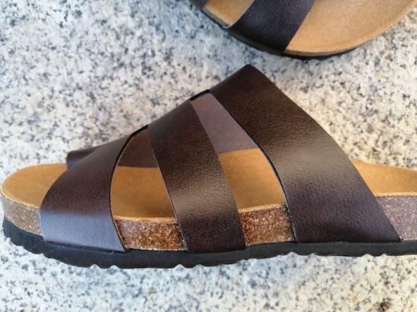 Modelo elias sandalias veganas, sandalias veganas mujer, calzado vegano, sandalias de tacón bajo, sandalias bioworld, vegan shoes.  [3]