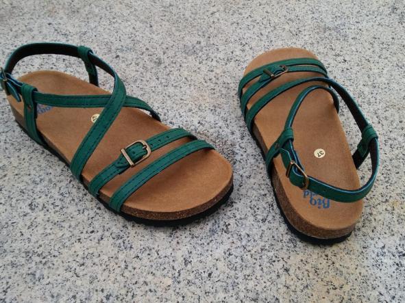 JARDIN VERDE, sandalias veganas, sandalias veganas mujer, calzado vegano, sandalias de tacón bajo, sandalias bioworld, vegan shoes.  [2]