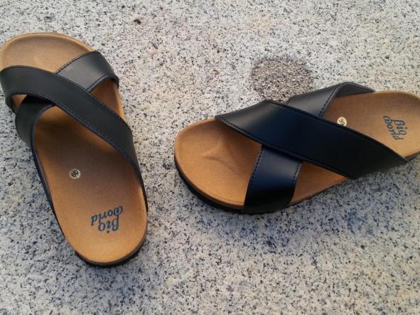 SENA NEGRO, sandalias veganas, sandalias veganas mujer, calzado vegano, sandalias de tacón bajo, sandalias bioworld, vegan shoes.  [3]