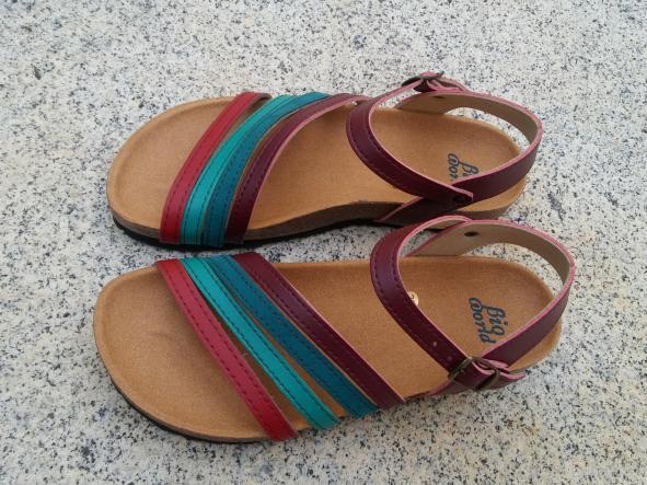 GRANADA, sandalias veganas, sandalias veganas mujer, calzado vegano, sandalias de tacón bajo, sandalias bioworld, vegan shoes, sandalias de colores.  [3]