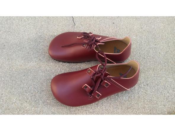 NOGAL BURDEOS  BZapatos veganos, Zapatos de diseño, Zapatos cerrados, Zapatos Planos, zapatos de hombre, zapatos de mujer [2]