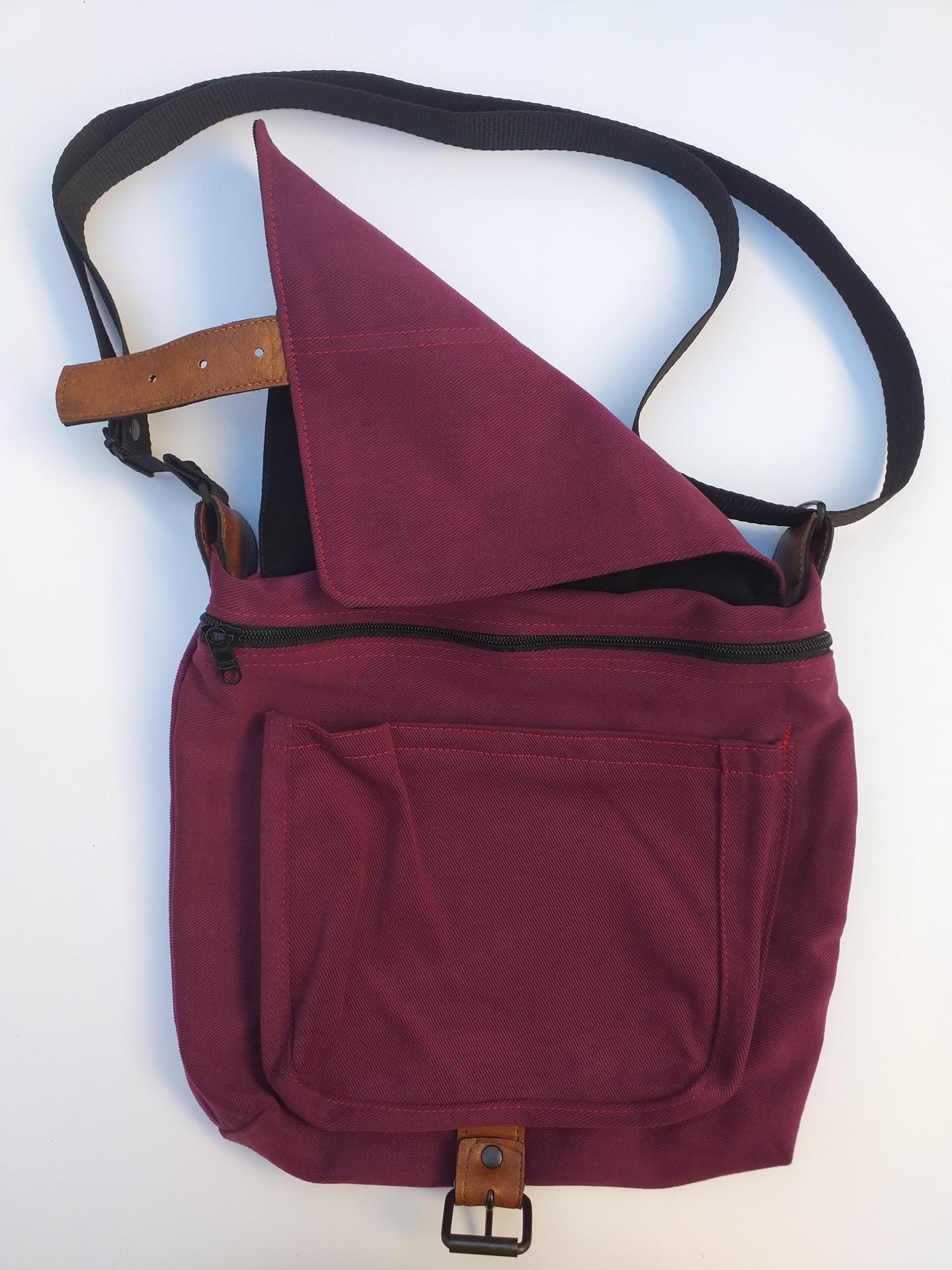 handbag TINCHO GARNET