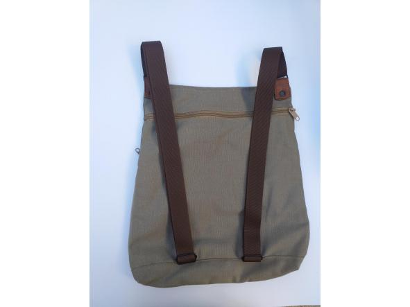 BACKPACK TRIANGULO RED and GRAY [1]