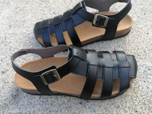 SIERRA NEGRO sandalias veganas, sandalias veganas mujer, calzado vegano, sandalias de tacón bajo, sandalias bioworld, vegan shoes.  [3]