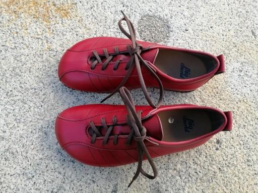 BRASIL ROJO Zapatos veganos, Zapatos de diseño, Zapatos cerrados, Zapatos Planos, zapatos de hombre, zapatos de mujer [3]
