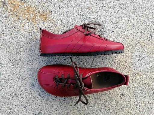 BRASIL ROJO Zapatos veganos, Zapatos de diseño, Zapatos cerrados, Zapatos Planos, zapatos de hombre, zapatos de mujer [2]