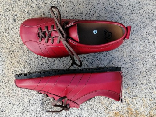 BRASIL ROJO Zapatos veganos, Zapatos de diseño, Zapatos cerrados, Zapatos Planos, zapatos de hombre, zapatos de mujer