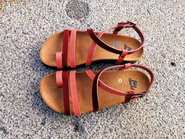 VALENCIA COMBINACION 1, sandalias veganas, sandalias veganas mujer, calzado vegano, sandalias de tacón bajo, sandalias bioworld, vegan shoes, sandalias de colores. [0]