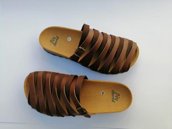 Alejandría marrón  sandalias veganas, sandalias veganas mujer, calzado vegano, sandalias de tacón bajo, sandalias bioworld, vegan shoes. [2]
