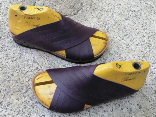Jerusalem deep purple. sandalias veganas, sandalias veganas mujer, calzado vegano, sandalias de tacón bajo, sandalias bioworld, vegan shoes. [2]