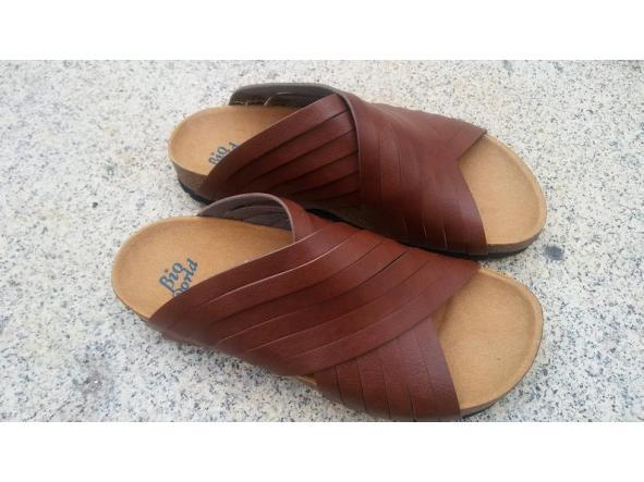 Jerusalem Marrón. sandalias veganas, sandalias veganas mujer, calzado vegano, sandalias de tacón bajo, sandalias bioworld, vegan shoes. [1]