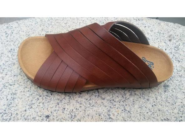 Jerusalem Marrón. sandalias veganas, sandalias veganas mujer, calzado vegano, sandalias de tacón bajo, sandalias bioworld, vegan shoes. [2]