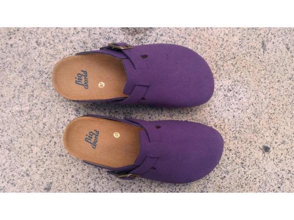 SUOMI PURPLE, Zuecos,  Zapatos veganos, Zapatos de diseño, Zapatos abiertos, Zapatos Planos, zapatos de hombre, zapatos de mujer [1]